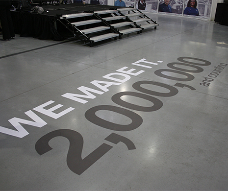 Floor Graphics Vinyl Floor Graphics Non-slip Floor